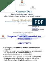 Tirocini formativi per l'occupazione - Presentazione Raffa