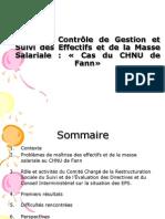 Controle de Gestion Et Suivi Des Effectifs Au CHU Fann)