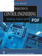 Introduction to Control Engineering ; Modeling, Analysis and Design - Ajit K. Mandal