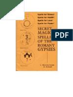 Secret Magic Spells of the Romany Gypsies