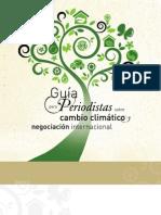Guia Periodistas CambioClim&Negociacion