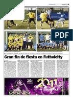 Torneo Fútbol 5 - 17 de diciembre 2011
