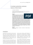 Food Safety and Animal Production Systems
