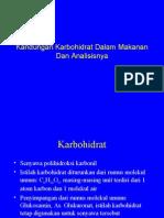 Kuliah-08-Aktualisierung Am 07.04.2009-Kandungan Karbohidrat Dalam Makanan Dan Analisisnya