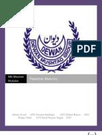 FINANCIAL ANALYSIS OF DEWAN MUSHTAQ GROUP
