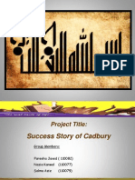 Presentation on CadBury Scheweppes and CadBury Pakistan