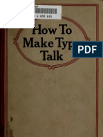 How to Make Type Talk