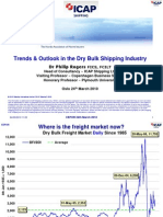 Trends & Outlook in the Dry Bulk Shipping Industry Mars 2010
