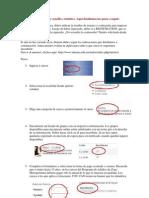 Procedimiento de inscripciones online