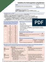Mini Warfarin Guidelines