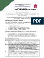 London 2012 ELP Instruction Sheet