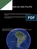 Clima San Felipe Chile