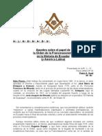 Apuntes para la Historia de la Francmasonería Ecuatoriana (y latinoamericana)