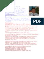 134897117 Contoh Biodata Diri Terbaru Dan Lengkap Docx