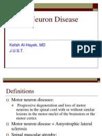 Motor Neuron Disease