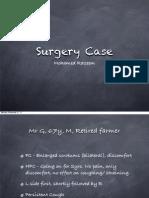 Hernias Case Presentation