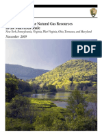 Development of the Natural Gas Resources in the Marcellus Shale by the National Park Service, November 2009