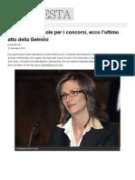 Cambiano Le Regole Per i Concorsi, Ecco l'Ultimo Atto Della Gelmini - 22 Dicembre 2011 Linkiesta.it