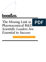 Scientific Leadership Booz the Missing Link
