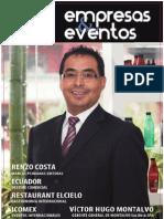 Revista Empresas y Eventos -  edicion 18