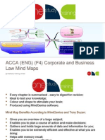 ACCA F4 Business Law Mind Maps (Paid for).