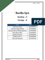 barilla spa case study sec c group 6 barilla case study