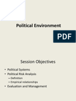 20111125 Session 5 - Political Environment