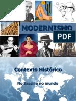 Contexto Histório - Modernismo
