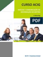 Curso de Análise e Comunicação de Informação de Gestão