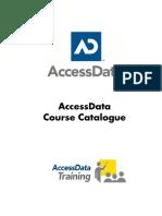 Forensic Course Catalog - AccessData