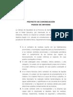 Pedido de informe sobre el vertedero de la ciudad de Pérez
