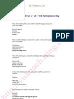 EntrepreneurshipSolvedMCQs