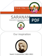Vision and Mission of Saranam