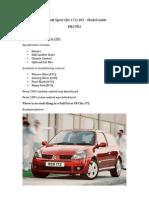 Renault Sport Clio Guide