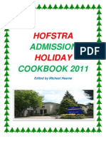 Admission Office Holiday Cookbook