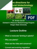 Future Direction Molecular Farming
