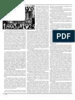 Historia del Primero de Mayo en Uruguay 1890-1925. (Pascual Muñoz)