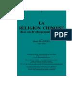 Henri MASPERO (1883-1945), La religion chinoise dans son développement historique