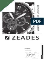 ZEADES Watches - User Manuel