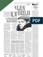 Glenn Gould, Rivoluzionario Aristocratico