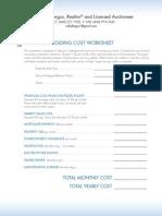 Fergus Re Holding Cost Worksheet