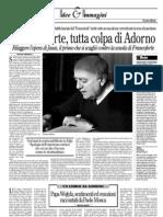 Jauss contra Adorno