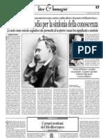 Gerardo Picardo Su Stasera Dirige Nietzsche