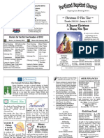111225 PBC Bulletin - December 25-January 1
