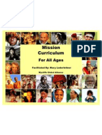 mission curriculum for all ages 12 2011