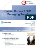 Emerging Trends in Gaming CCS 2011