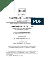 Assemblée nationale française-Livres indisponibles-Proposition de loi reçue du Sénat français
