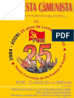 Propuesta Comunista, nº 55, abril 2009
