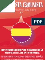 Propuesta Comunista, nº 57, noviembre 2009