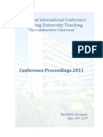 Proceedings of 36th International Conference - Improving University Teaching (Germany)